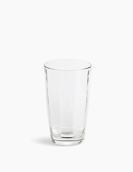 Striped Hi Ball Glass