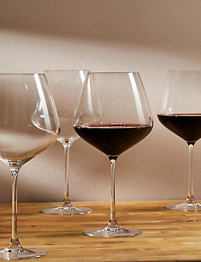 Set Of 4 Sommelier Large Red Wine Gles
