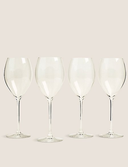 The Sommelier's Edit Set of 4 Large White Wine Glasses