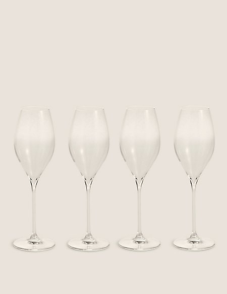 Set of 4 The Sommelier's Edit Prosecco Glasses