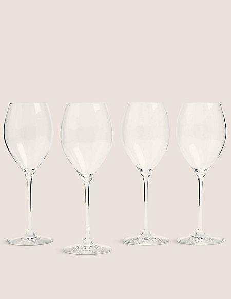 Set of 4 The Sommelier's Edit White Wine Glasses