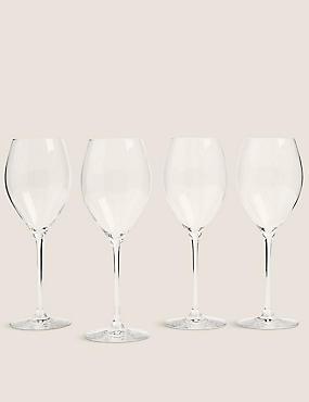 The Sommelier's Edit 4 Pack White Wine Glasses