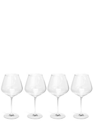 Sommelier 4 Pack Large Red Wine Glasses by Marks & Spencer