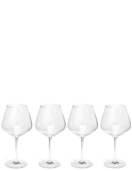 Sommelier 4 Pack Large Red Wine Glasses