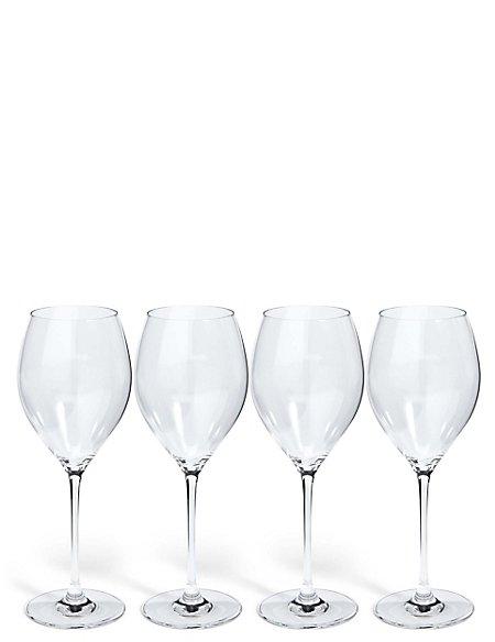 Sommelier 4 Pack White Wine Glasses