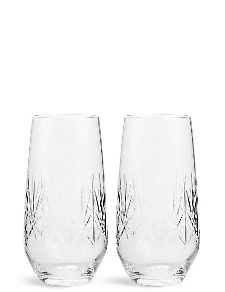 Image result for Nouveau 2 Pack Hi Ball Glasses
