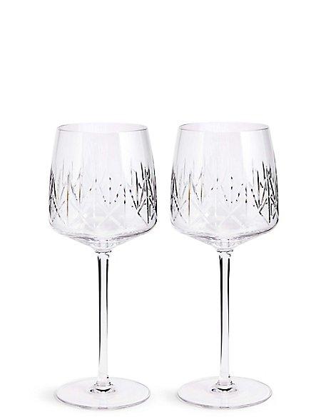 Nouveau 2 Pack Wine Glasses