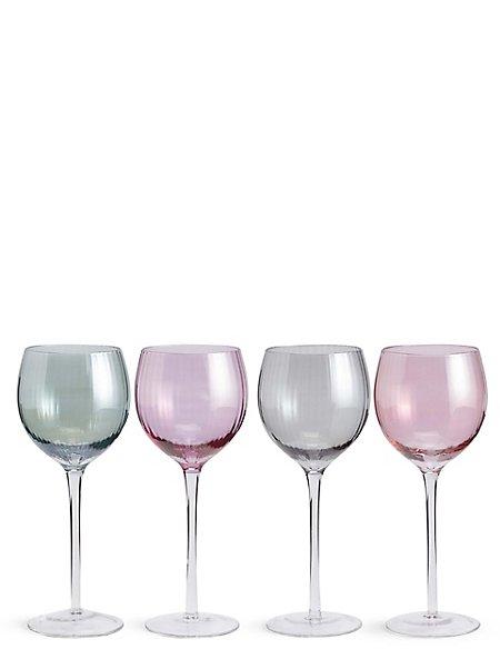 Ophelia 4 Pack Wine Glasses
