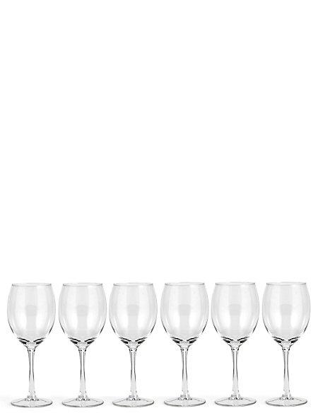 Value 6 Pack Wine Glasses