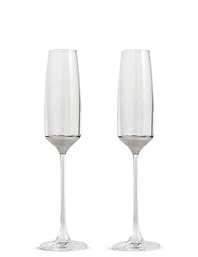 Bellagio 2 Pack Champagne Flutes