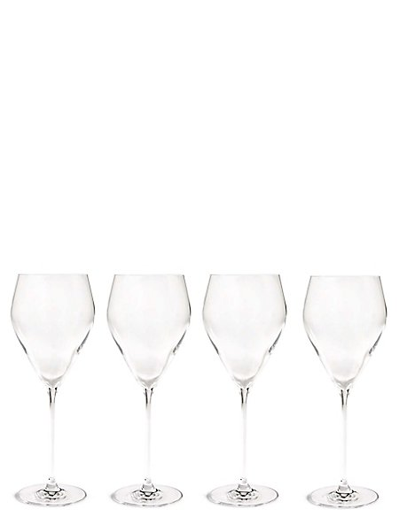 4 Pack Lily Red Wine Glasses