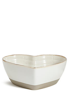 Retreat Heart Shaped Bowl