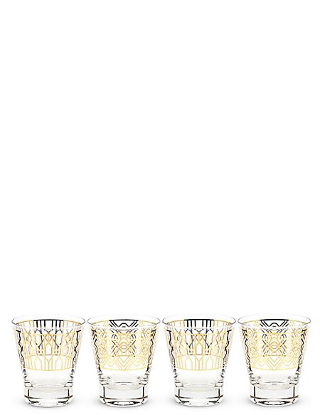 4 Pack Manhattan Tumblers