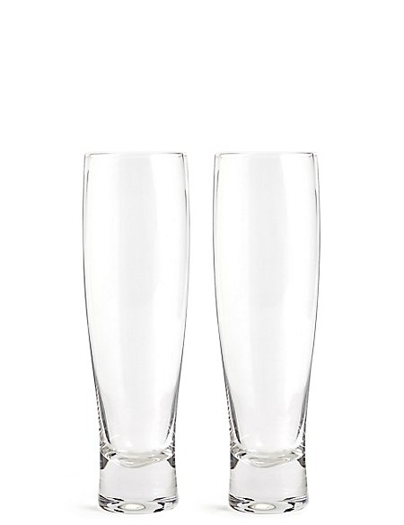 Set of 2 Craft Lager Glass