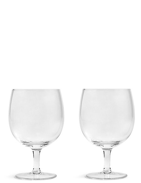 Set of 2 Craft Footed Beer Glasses