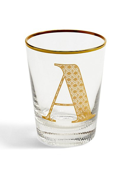 Alphabet A Glass