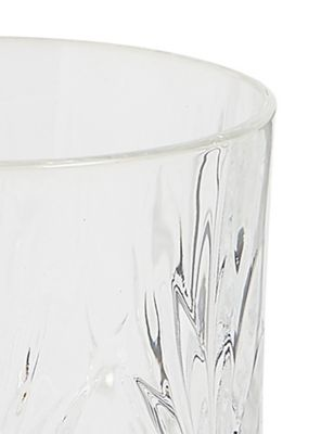 Pressed Glass Tumbler by Marks & Spencer