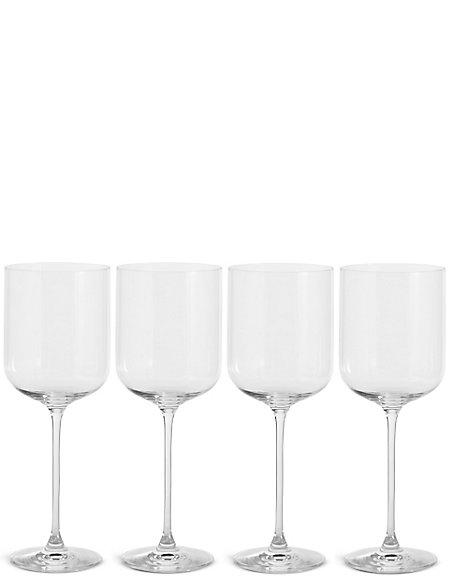 Set of 4 Marlowe Red Wine Glasses