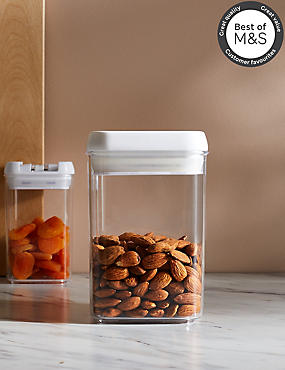 Medium Flip Lock Storage Jar