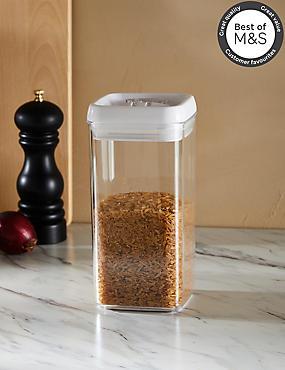 Large Flip Lock-Tight Storage Jar