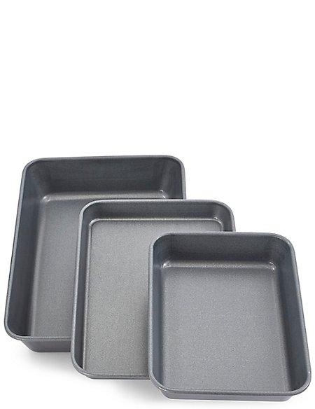 Set of 3 Roasting Trays