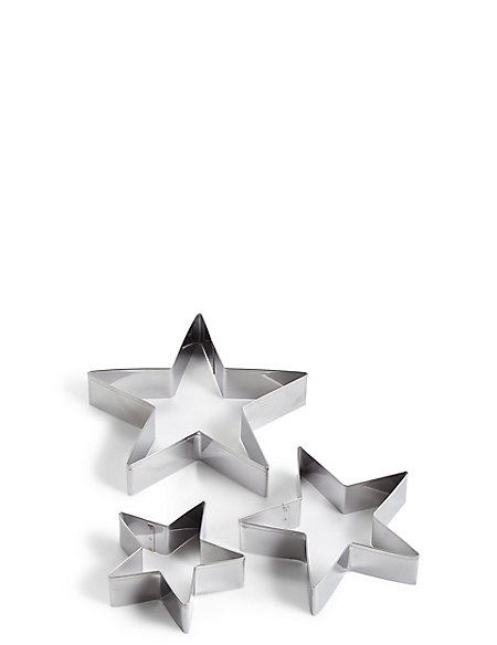 Set of 3 Star Cutters