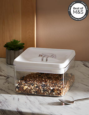 3L Square Flip Lock-Tight Storage Container