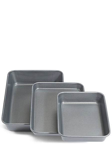 Set of 3 Baking Trays