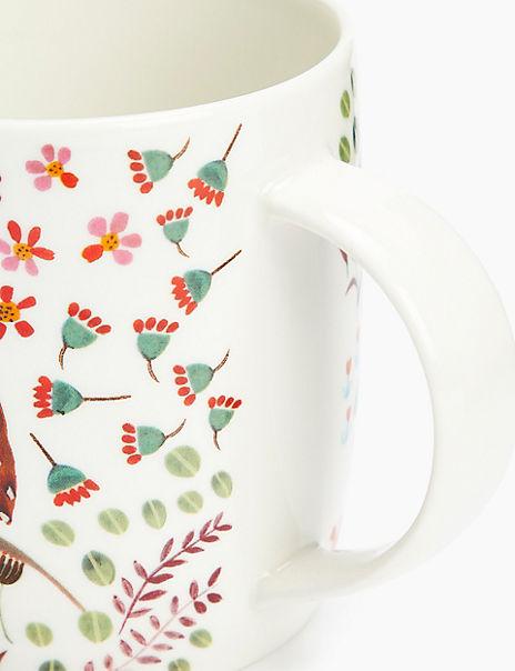 Woodland Owl Print Mug