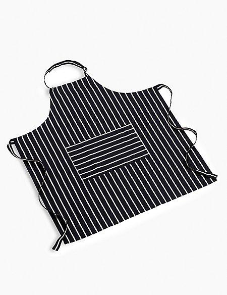 Classic Striped Apron