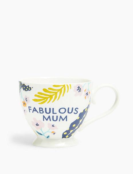 Mum Floral Mug