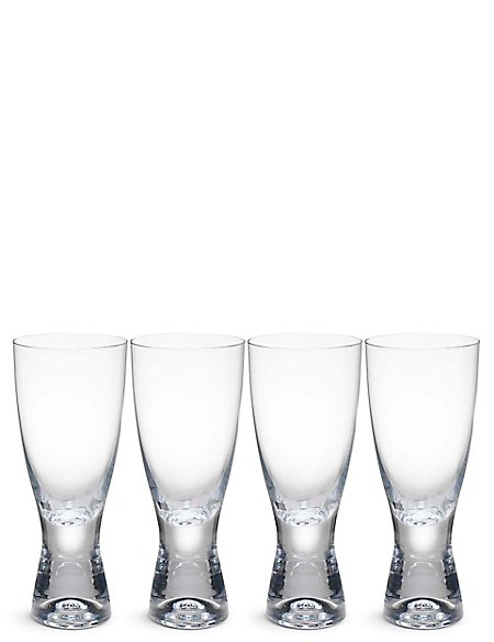 4 Barrel Aqua Glasses
