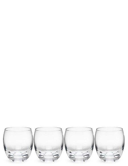 Set of 4 Barrel Tumblers