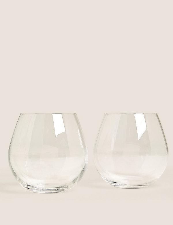 Lot de 2verres à Gin sans pied