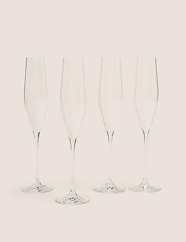 Grace– Lot de 4flûtes à champagne