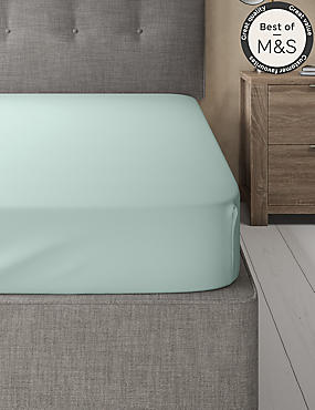 Comfortably Cool Cotton & Tencel® Blend Fitted Sheet