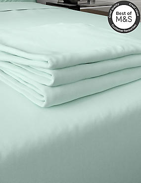 Comfortably Cool Cotton & Tencel® Blend Flat Sheet