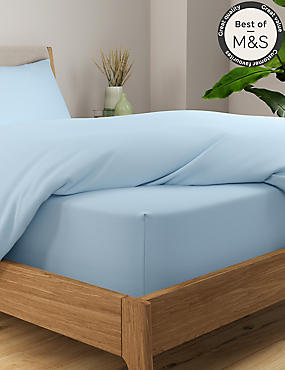 Comfortably Cool Cotton & Tencel® Blend Extra Deep Fitted Sheet