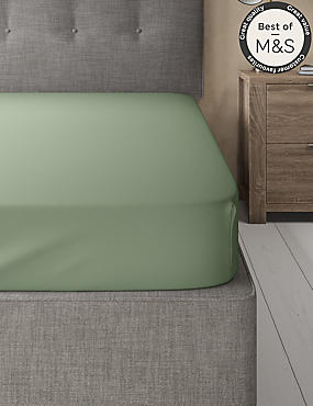 Non Iron Pure Egyptian Cotton Fitted Sheet