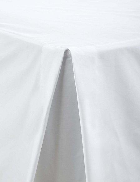 Non-Iron Pure Egyptian Cotton Valance Sheet - 230 Thread Count