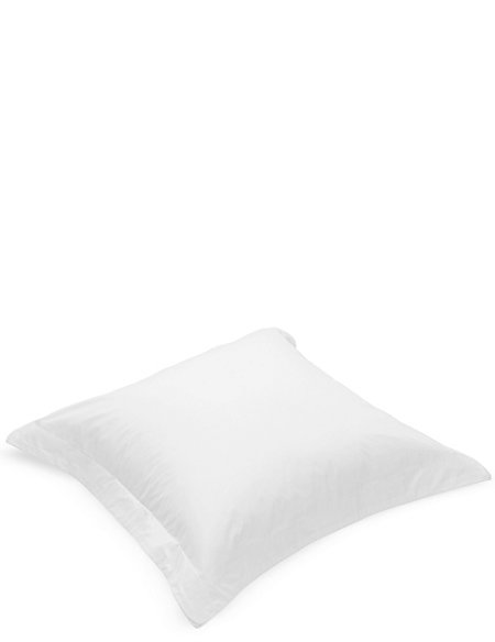 Pure Egyptian Cotton 230 Thread Count Square Pillowcase with StayNEW™
