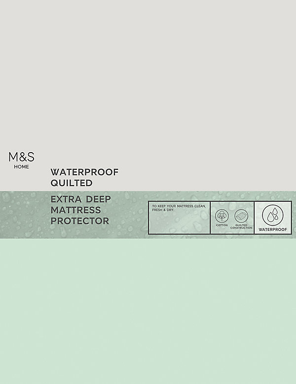 Quilted Waterproof Extra Deep Mattress Protector