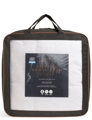 Siberian Goose Down 10.5 Tog Duvet by Marks & Spencer