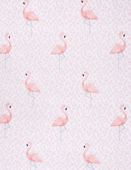 Flamingo Print Bedding Set