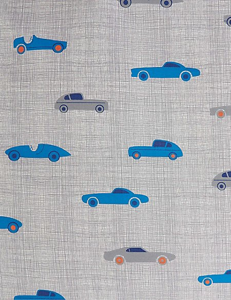 Printed Cars Bedding Set