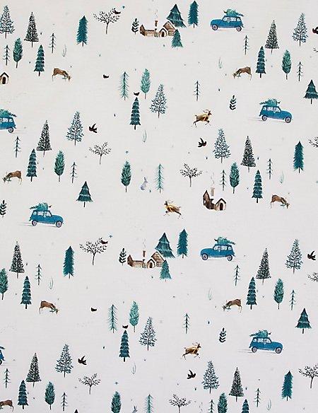 Alpine Lodge Printed Bedding Set