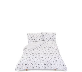 Woodland Animals Printed Bedding Set