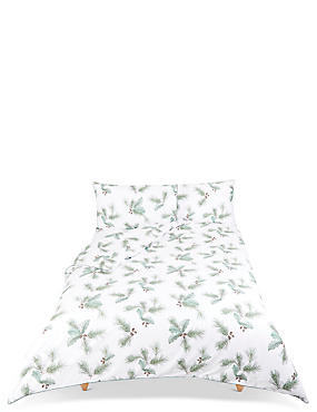Pine Printed Bedding Set