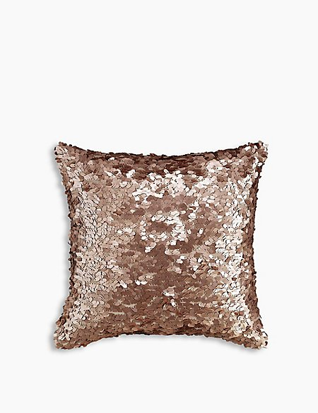 Matte Sequin Cushion