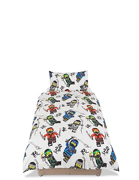 Ninjago Lego Bedding Set